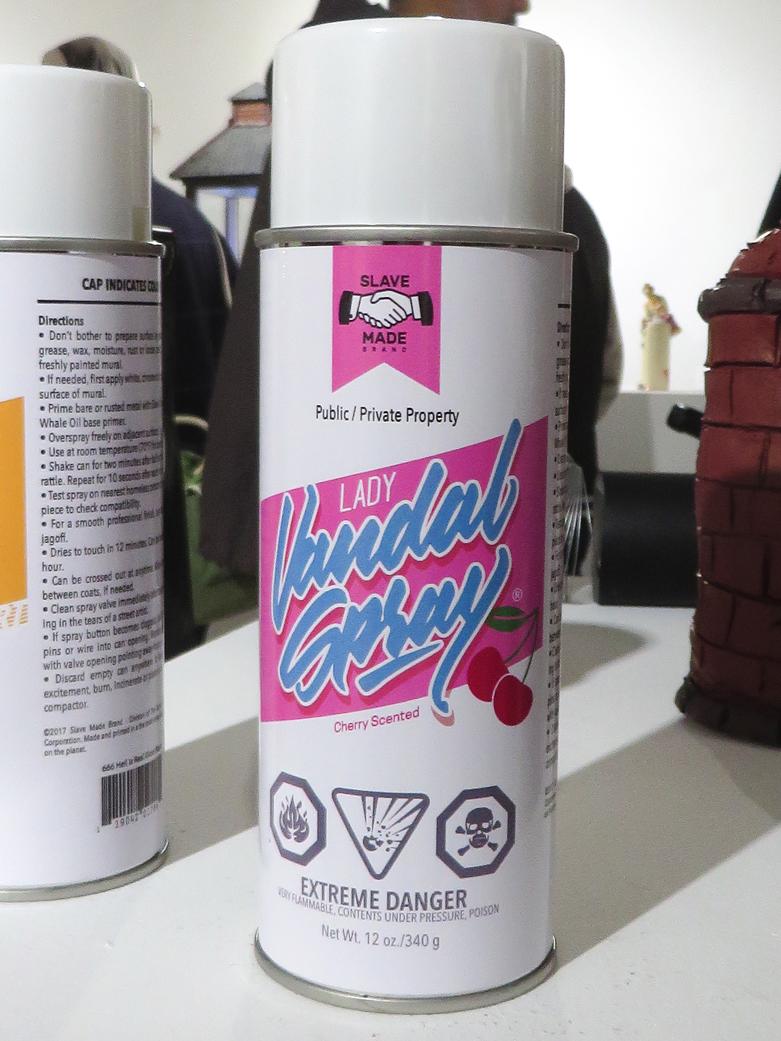 Spraycan Art show (Lady version) at ArtGang MTL